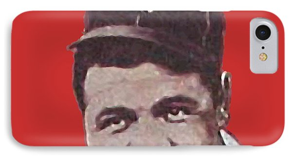 Babe Ruth IPhone Case by Paul Van Scott