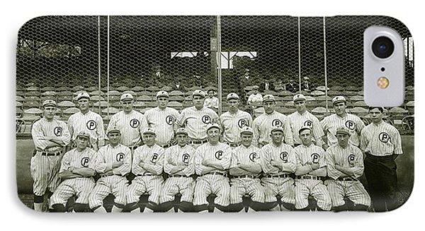 Babe Ruth Providence Grays Team Photo IPhone 7 Case