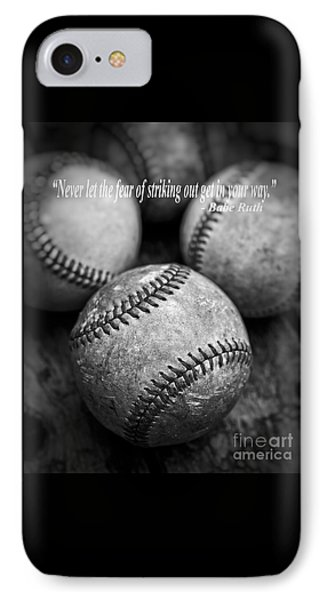 Babe Ruth Quote IPhone 7 Case