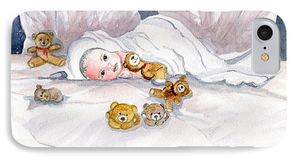 Baby And Friends IPhone Case by Melly Terpening