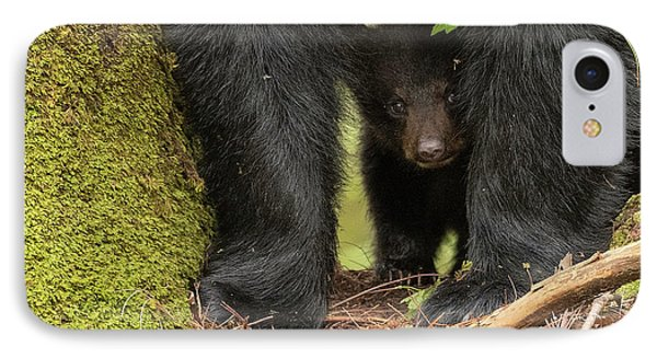Baby Bear Greeting Card IPhone Case by Everet Regal