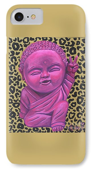 IPhone Case featuring the painting Baby Buddha 2 by Ashley Price