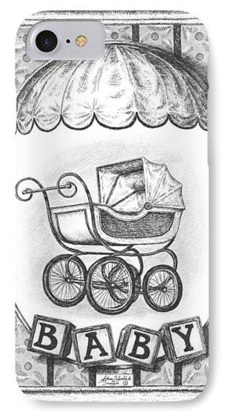 Baby Carriage Phone Case by Adam Zebediah Joseph