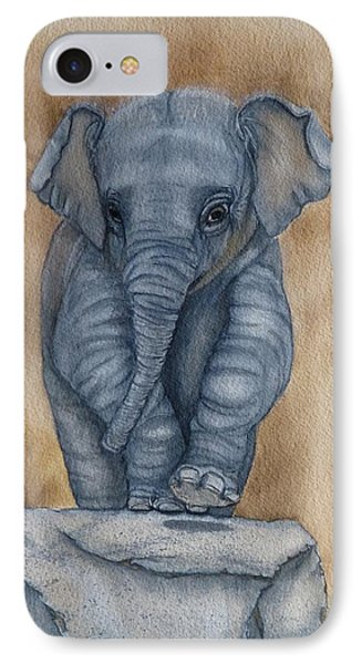 Baby Elephant Painting By Kelly Mills