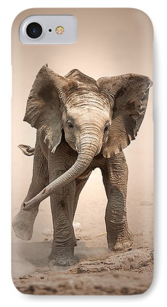 Baby Elephant Mock Charging IPhone Case