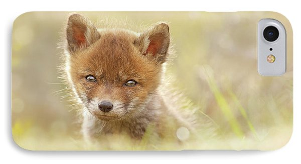 Baby Fox IPhone Case by Roeselien Raimond