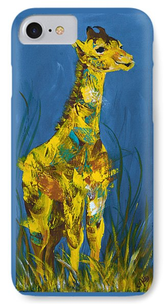 Baby Giraffe  Phone Case by Catherine Jeltes