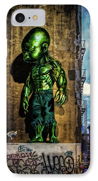 IPhone Case featuring the photograph Baby Hulk by Chris Lord