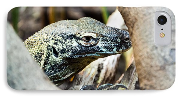 IPhone Case featuring the photograph Baby Komodo Dragon by Scott Lyons