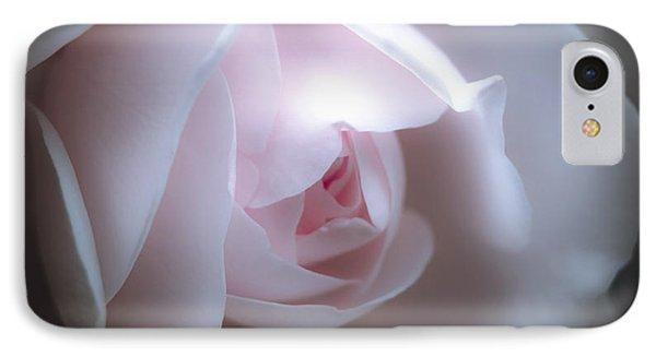 Baby Pink Rose Phone Case by Karen Lewis