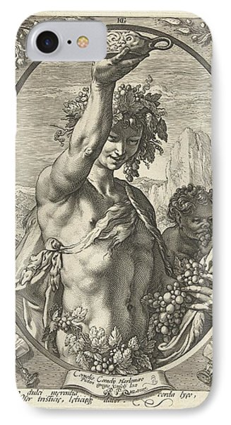 Bacchus God Of Ectasy IPhone Case by R Muirhead Art