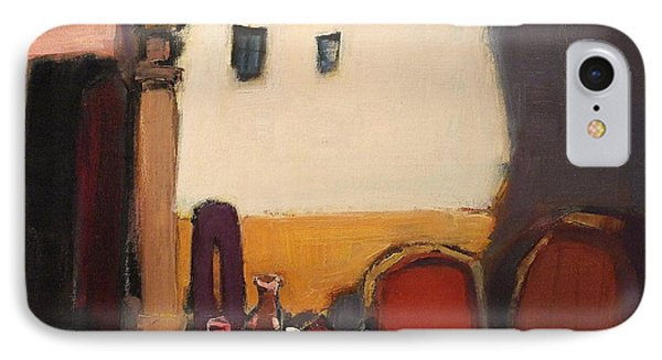 Bacchus House II, Nr. 11.39 IPhone Case by Adolf Pen