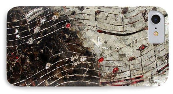 Bach Invention 13 Phone Case by Debra Hurd