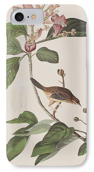 Bachmans Sparrow IPhone 7 Case by John James Audubon