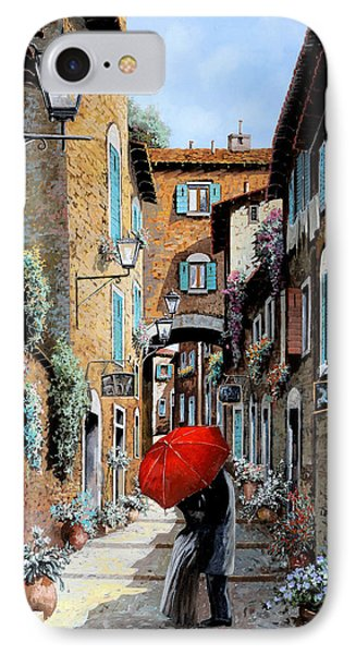 Baci Nel Vicolo IPhone Case by Guido Borelli
