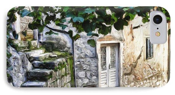 Back Alley Living Phone Case by Janet Fikar