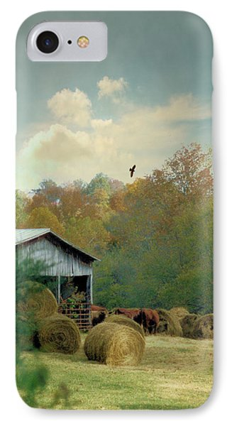 Back At The Barn Again Phone Case by Jan Amiss Photography