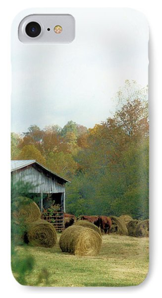 Back At The Barn IPhone Case by Jan Amiss Photography