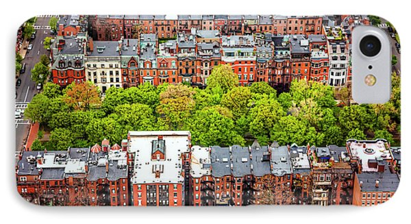 Back Bay Boston  IPhone Case by Carol Japp