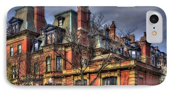 Back Bay Boston Gothic Architecture IPhone Case