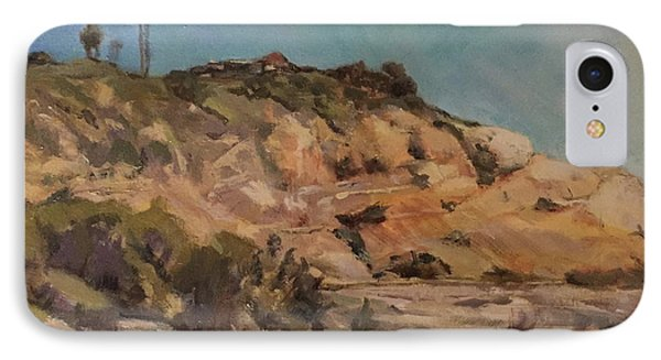 Back Bay Cliff IPhone Case