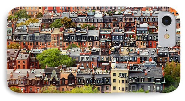 Back Bay IPhone Case by Rick Berk