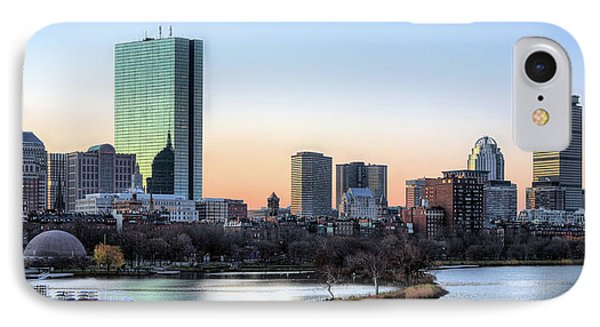 Back Bay Sunrise Phone Case by JC Findley