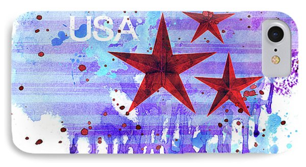 Back In The Usa IPhone Case by Colleen Taylor