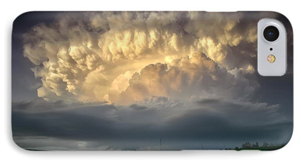 IPhone Case featuring the photograph Back Of The Beast by James Menzies