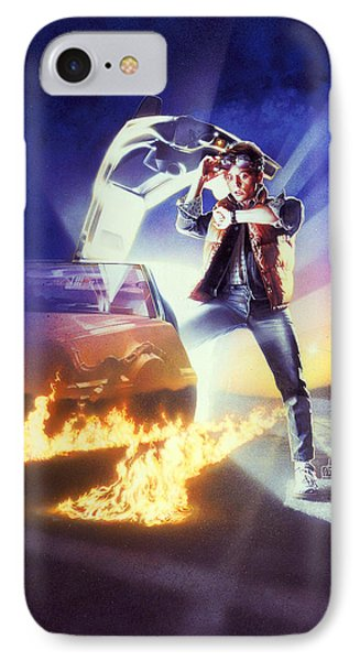 Back To The Future 1985 IPhone Case by Unknown