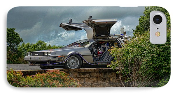 IPhone Case featuring the photograph Back To The Future II Replica by Tim McCullough