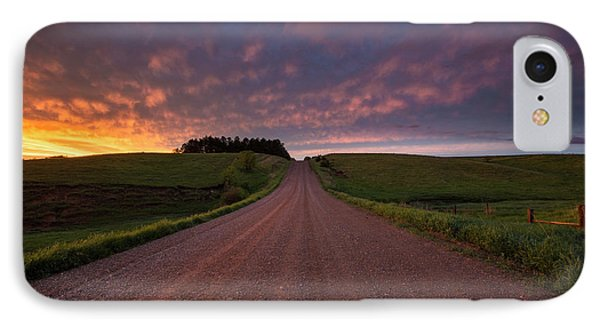 IPhone Case featuring the photograph Backroad To Heaven  by Aaron J Groen