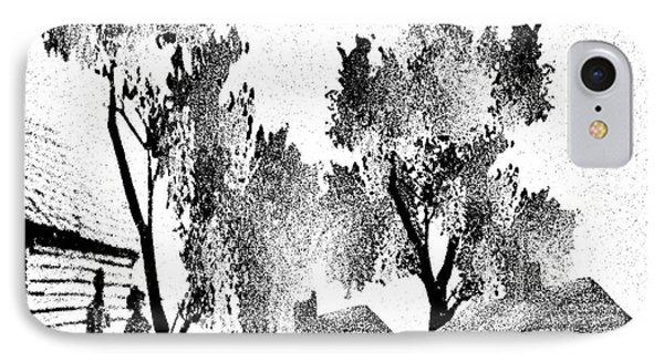 Backwoods IPhone Case by Belinda Threeths
