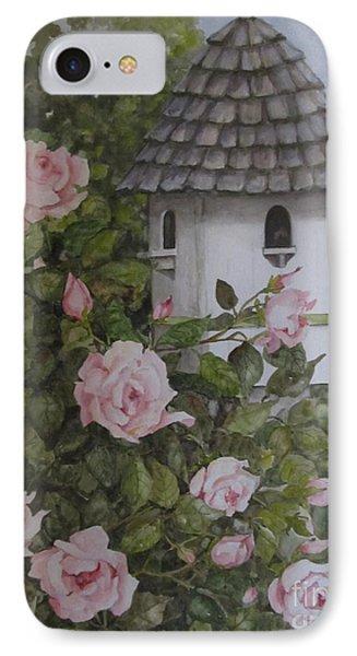 Backyard Birdhouse Phone Case by Karen Olson