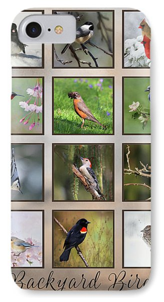 IPhone Case featuring the photograph Backyard Birds by Lori Deiter