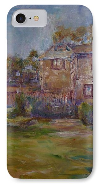 Backyard Impressions IPhone Case by Helen Campbell