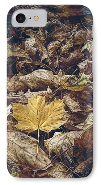 Backyard Leaves IPhone Case