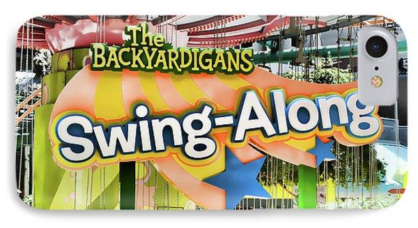 Backyardigans Swing-a-long IPhone Case by Lanjee Chee