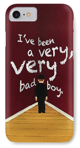 Bad Boy Greeting Card IPhone Case