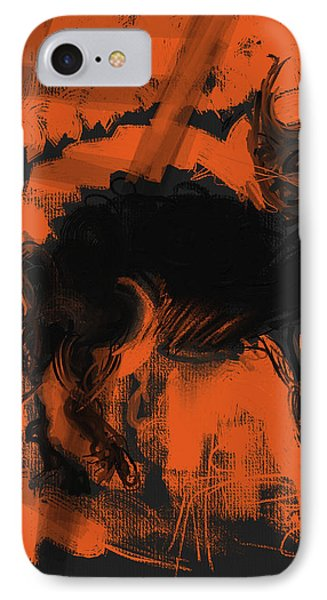 Bad Luck Phone Case by Russell Pierce
