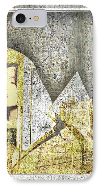IPhone Case featuring the mixed media Bad Luck by Tony Rubino