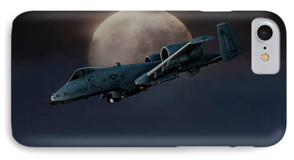Bad Moon IPhone Case by Peter Chilelli