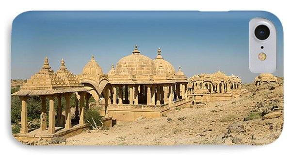 IPhone Case featuring the photograph Bada Bagh Of Jaisalmer by Yew Kwang