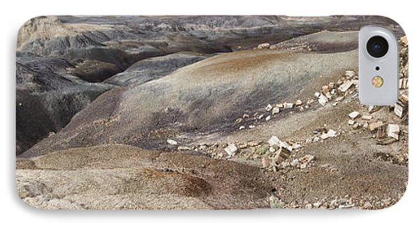 IPhone Case featuring the photograph Badlands In Petrified Forest by Melany Sarafis