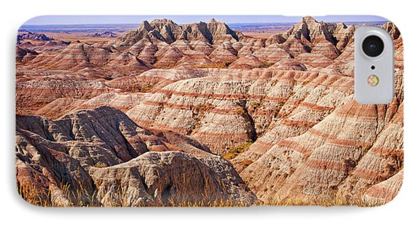 IPhone Case featuring the photograph Badlands by Mary Jo Allen