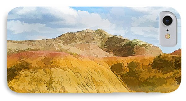 Badlands National Park Abstract IPhone Case