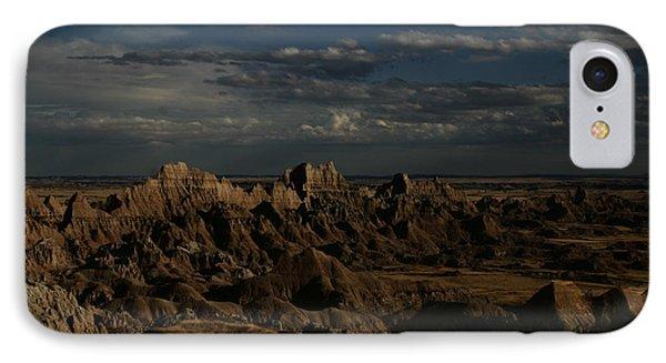 Badlands National Park Phone Case by Benjamin Dahl