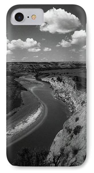 IPhone Case featuring the photograph Badlands, North Dakota by Art Shimamura
