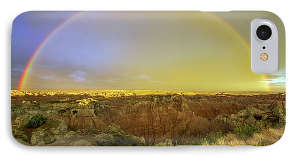 Badlands Rainbow Promise IPhone Case