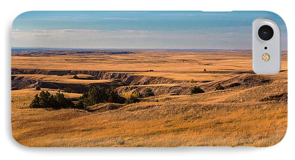 Badlands Vi Panoramic IPhone Case by Tom Mc Nemar